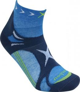 Lorpen-T3-Trailrunning-Socke-in-hellblau