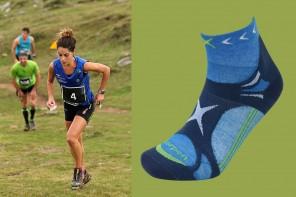 Lorpen-T3-Trailrunning-Socken-in-hellblau