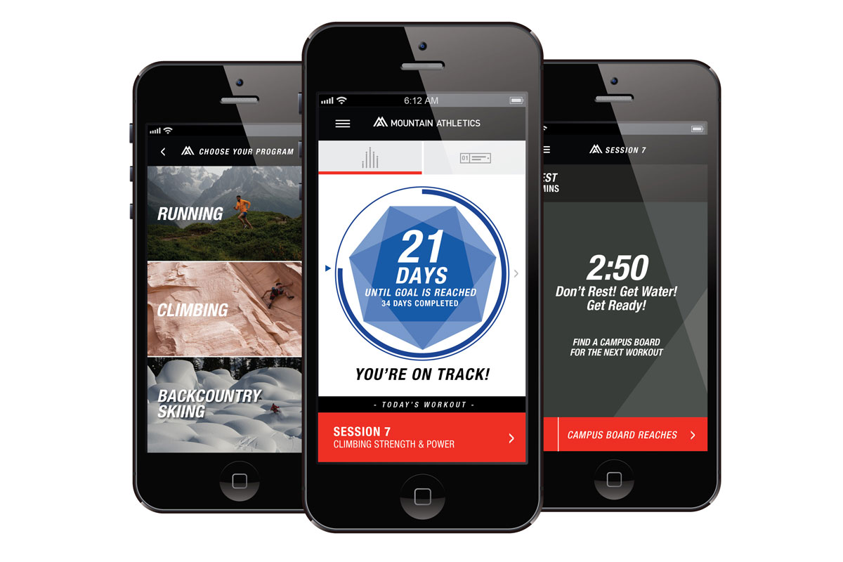 Mountain Athletic Training App
