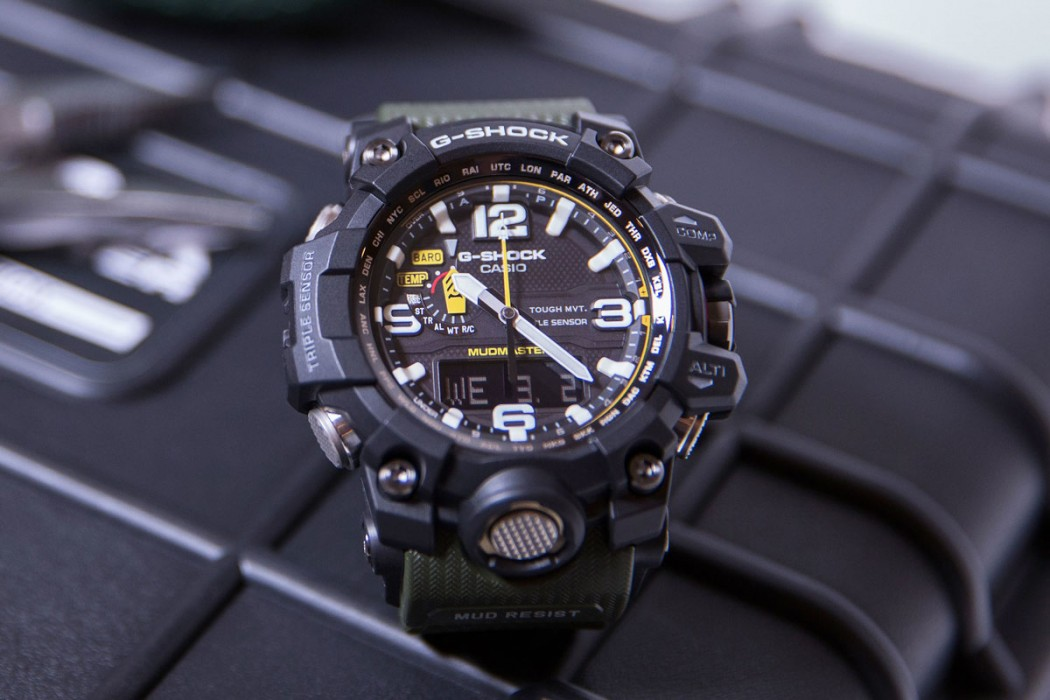 G-SHOCK MUDMASTER LIMITED EDITION