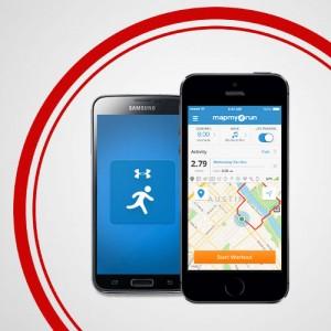 MapMyRun App Smartphone