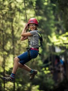 Marmot Family Camp Klettergarten Outdoor-Erlebnis