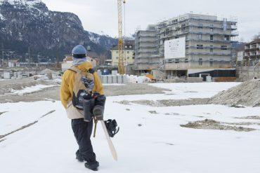 Snowboarder Marco Smolla besucht die Moun10 Jugendherberge