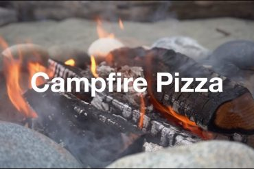 The North Face – Pizza backen über dem Lagerfeuer