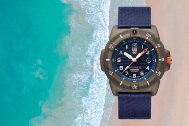 Neue Luminox Uhr für die Umwelt und die Zukunft der Meere